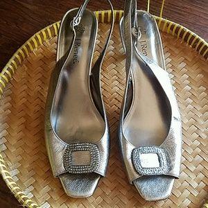 J.Renee peep toes